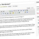 Egen blogg ved hjelp av WordPress?