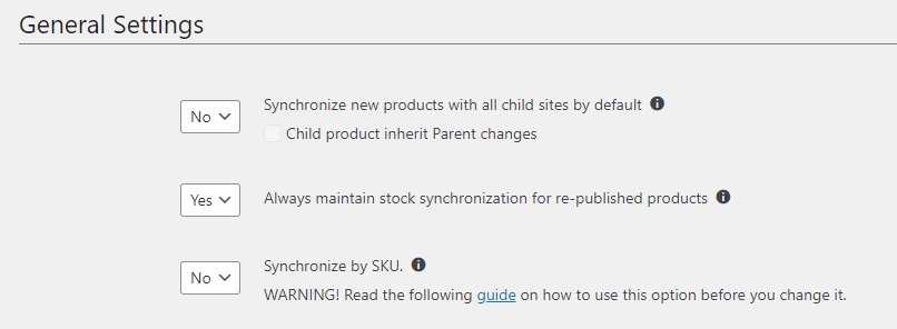 Stock Sync for WooCommerce